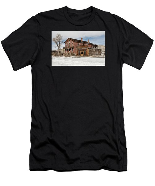 Hotel Meade And Saloon Men's T-Shirt (Athletic Fit)