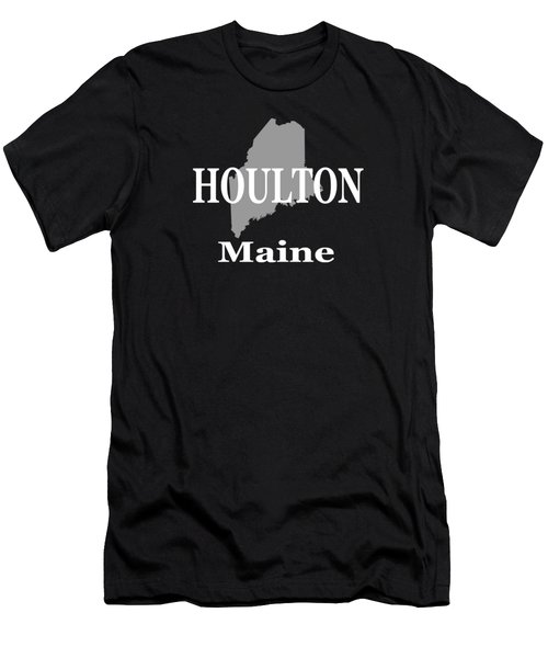 Houlton Maine State City And Town Pride  Men's T-Shirt (Athletic Fit)