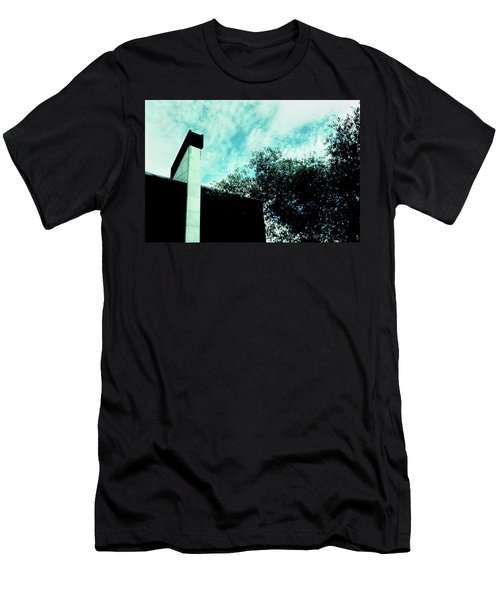 House And Sky Men's T-Shirt (Athletic Fit)