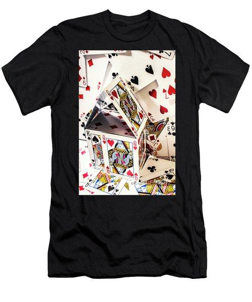 House Edge Men's T-Shirt (Athletic Fit)