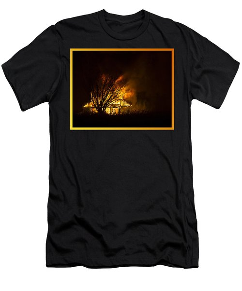 House Fire Men's T-Shirt (Athletic Fit)