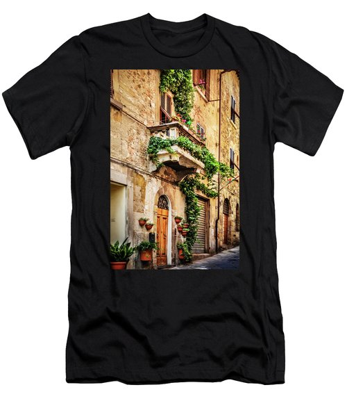 House In Arezzoo, Italy Men's T-Shirt (Athletic Fit)