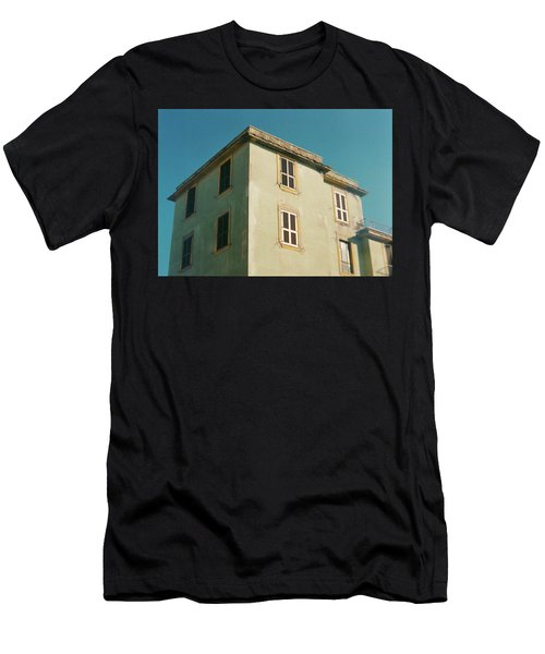 House In Ostia Beach, Rome Men's T-Shirt (Athletic Fit)