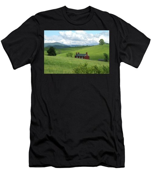 House In The Hills Men's T-Shirt (Athletic Fit)