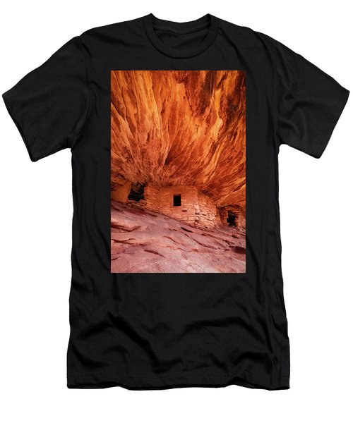 House On Fire Men's T-Shirt (Athletic Fit)