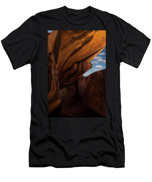 House On Fire Look Through Men's T-Shirt (Athletic Fit)