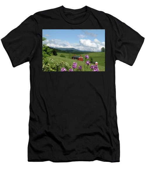 House On Hill In Lexington Men's T-Shirt (Athletic Fit)