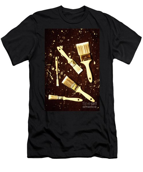 House Paint Abstract Men's T-Shirt (Athletic Fit)