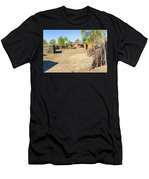 Houses In Rashid,  Sudan Men's T-Shirt (Athletic Fit)