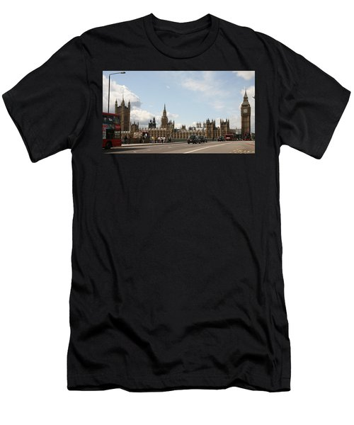Houses Of Parliament.  Men's T-Shirt (Athletic Fit)