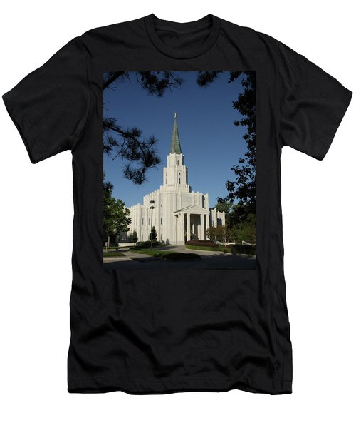 Houston Lds Temple Men's T-Shirt (Athletic Fit)