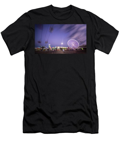 Houston Texas Live Stock Show And Rodeo #13 Men's T-Shirt (Slim Fit) by Micah Goff