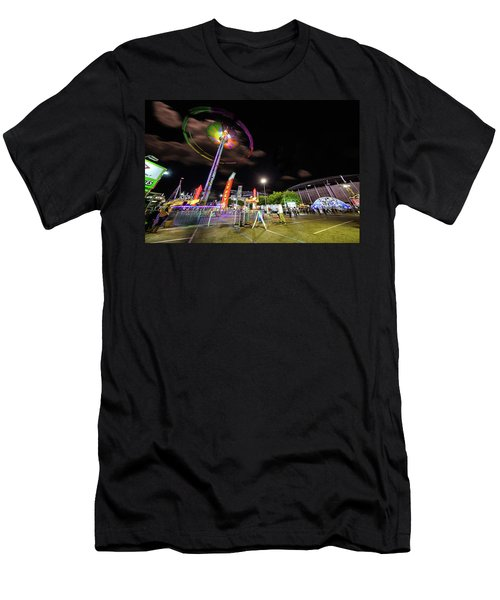 Houston Texas Live Stock Show And Rodeo #7 Men's T-Shirt (Athletic Fit)