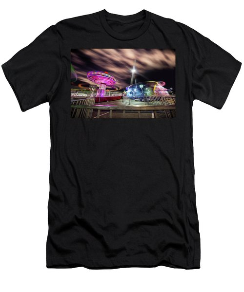 Houston Texas Live Stock Show And Rodeo #9 Men's T-Shirt (Slim Fit) by Micah Goff