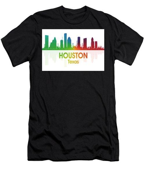 Houston Tx Men's T-Shirt (Athletic Fit)