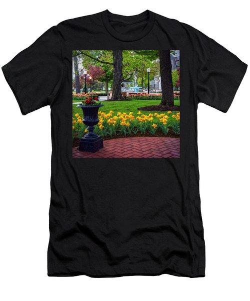 Hudson Falls...a Great Place To Call Home Men's T-Shirt (Athletic Fit)