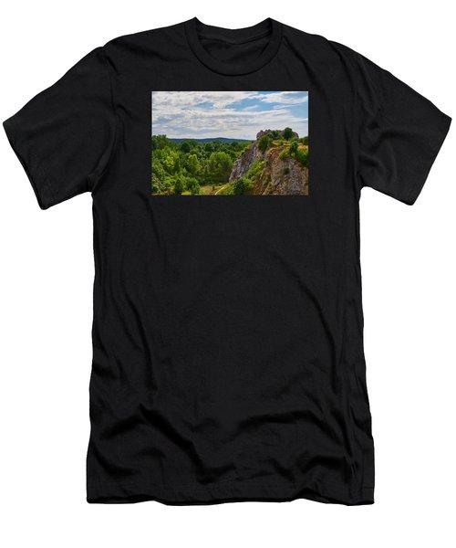 Hug A Rock Men's T-Shirt (Athletic Fit)