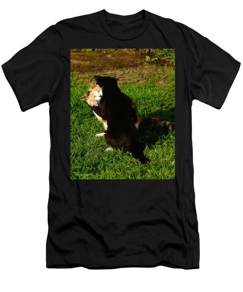 Men's T-Shirt (Slim Fit) featuring the photograph Hugs 2 by Steven Clipperton