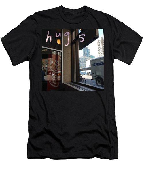 Hugs Men's T-Shirt (Athletic Fit)