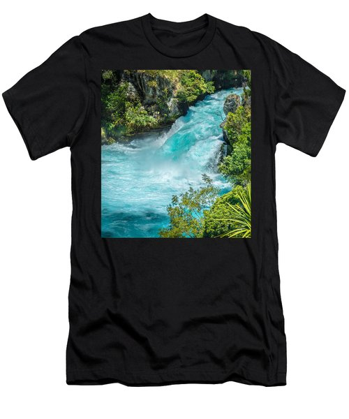 Huka Falls Men's T-Shirt (Athletic Fit)