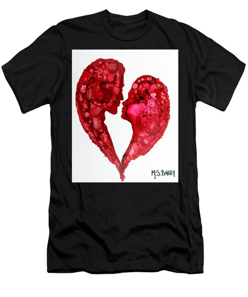 Human Heart Men's T-Shirt (Athletic Fit)