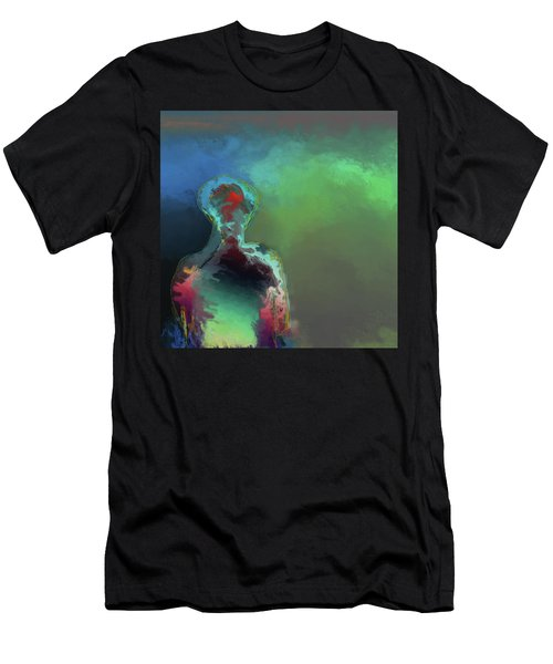 Humanoid In The Fifth Dimension Men's T-Shirt (Athletic Fit)