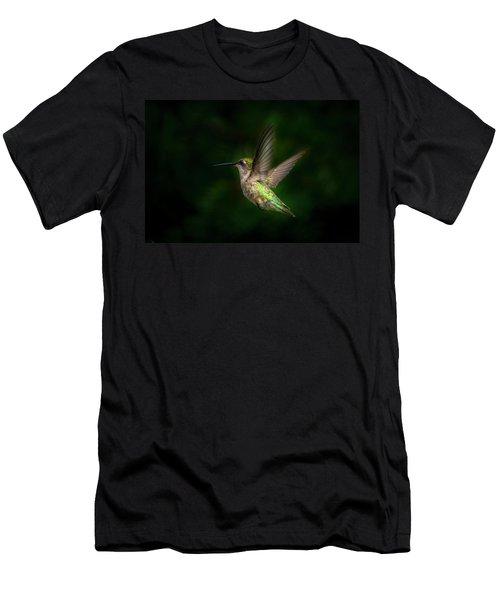 Hummingbird B Men's T-Shirt (Athletic Fit)