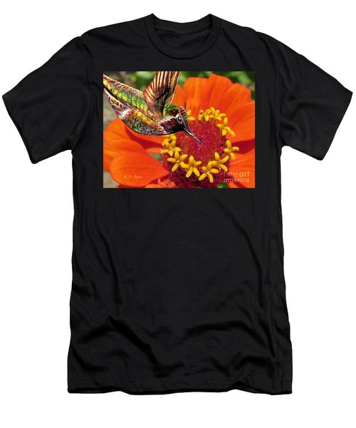 Hummingbird Delight Men's T-Shirt (Athletic Fit)