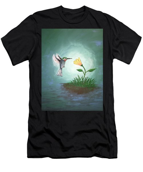 Hummingbird II Men's T-Shirt (Athletic Fit)