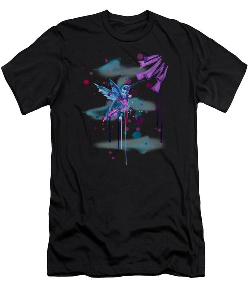 Hummingbird Skeleton 2.0 Men's T-Shirt (Athletic Fit)