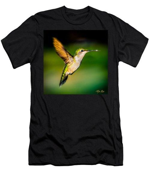 Hummingbird Sparkle Men's T-Shirt (Athletic Fit)