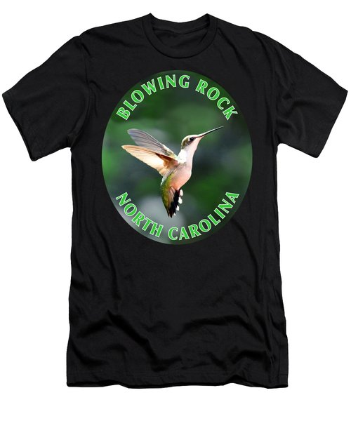 Hummingbird T-shirt Men's T-Shirt (Athletic Fit)