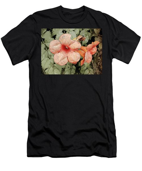 Hummingbird Vine Men's T-Shirt (Athletic Fit)