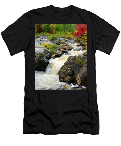 Hungary Trout Falls Men's T-Shirt (Athletic Fit)