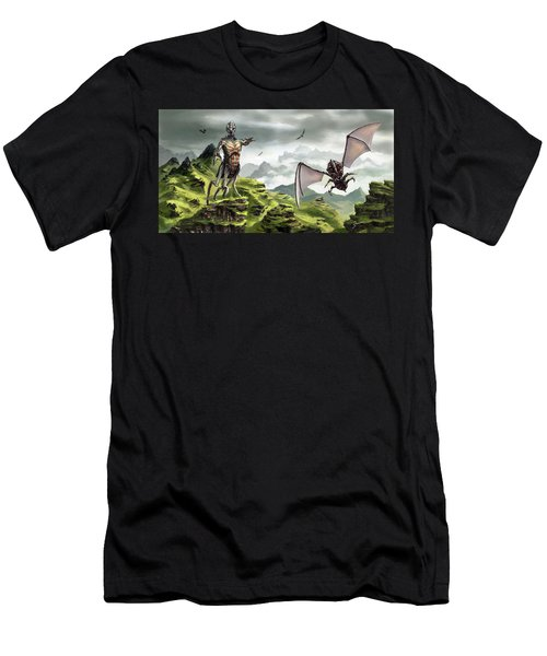 Hunter - Hound Men's T-Shirt (Athletic Fit)