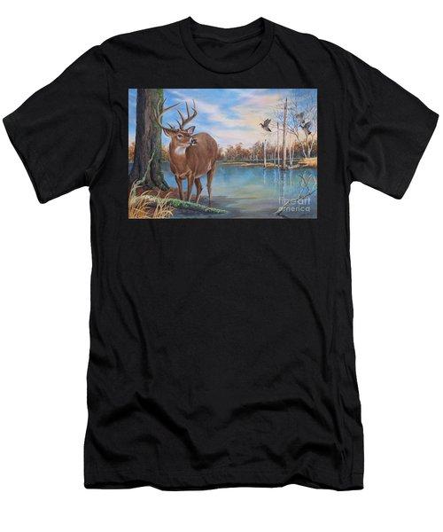 Hunters Dream Sold Men's T-Shirt (Athletic Fit)