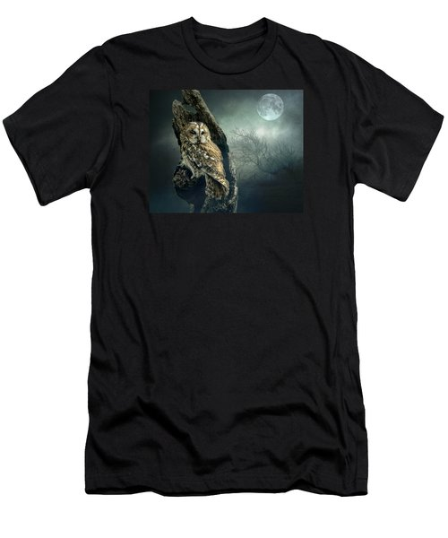 Hunter's Moon Men's T-Shirt (Athletic Fit)