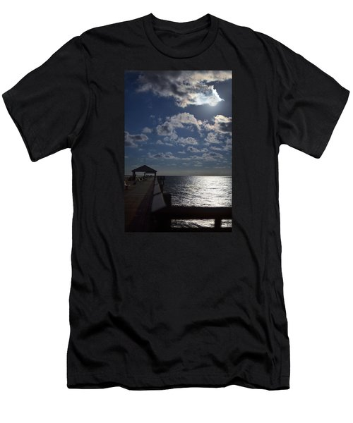 Men's T-Shirt (Athletic Fit) featuring the photograph Hunter's Moon by Laura Fasulo