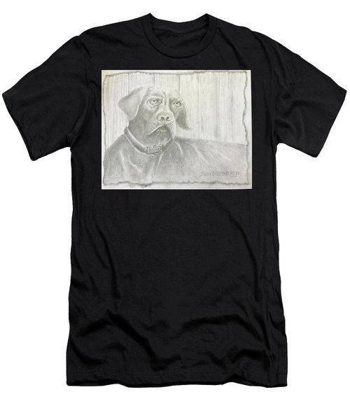 Hunting Dog Men's T-Shirt (Athletic Fit)