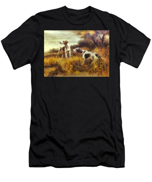 Hunting Dogs No1 Men's T-Shirt (Athletic Fit)