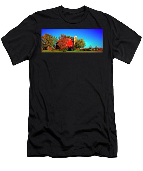Huntley Road Barn Early Morning Men's T-Shirt (Athletic Fit)