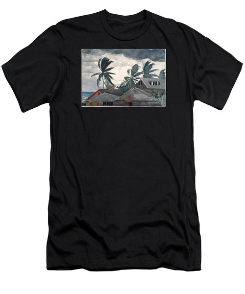 Hurricane In Bahamas Men's T-Shirt (Athletic Fit)