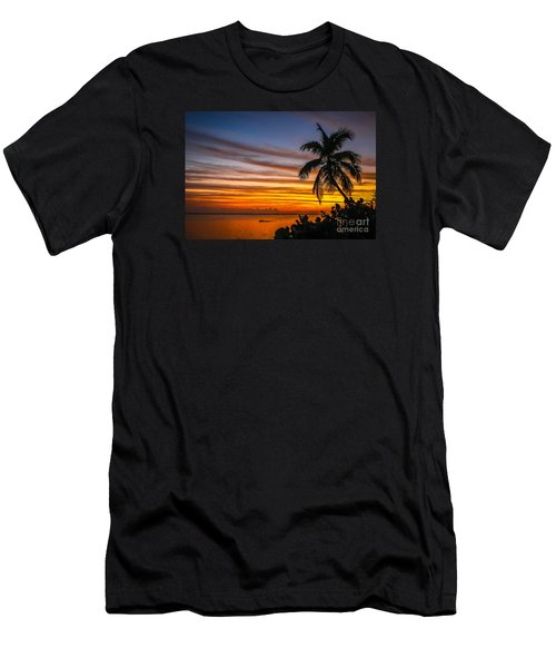 Hutchinson Island Sunrise #1 Men's T-Shirt (Athletic Fit)