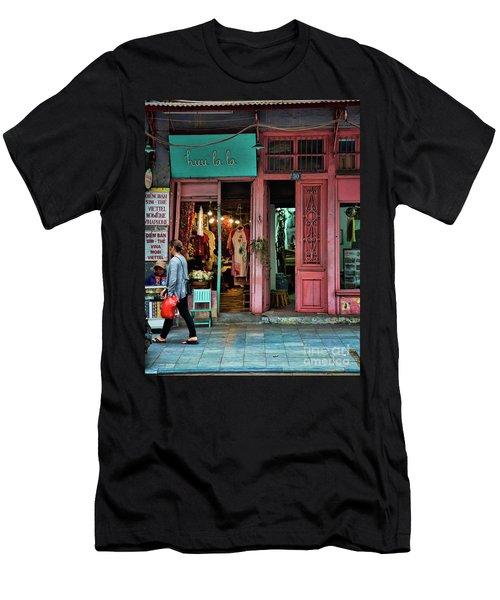 Huu La La Store Front Hanoi  Men's T-Shirt (Athletic Fit)