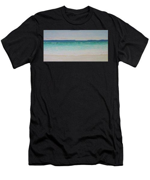 Hyams Beach Men's T-Shirt (Athletic Fit)