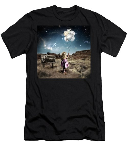 Men's T-Shirt (Athletic Fit) featuring the digital art Hybrid Child by District 97