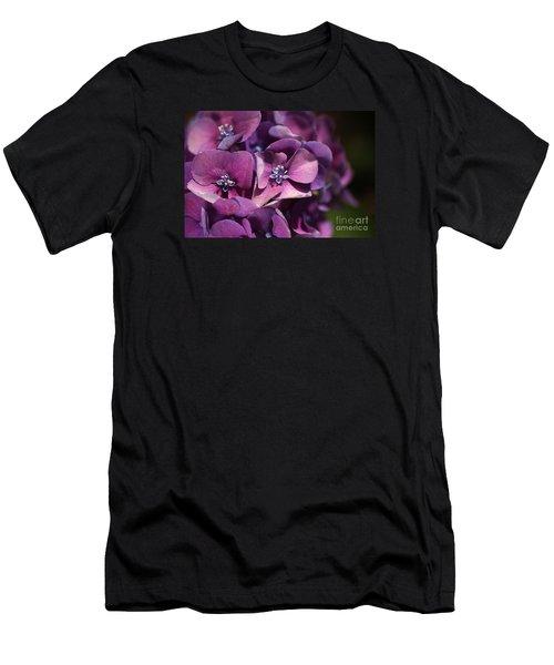 Hydrangea Passion  Men's T-Shirt (Athletic Fit)