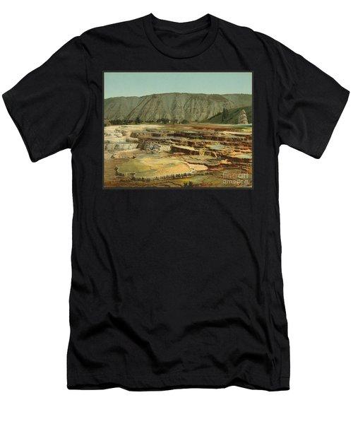 Hymen Terrace Yellowstone  Men's T-Shirt (Athletic Fit)