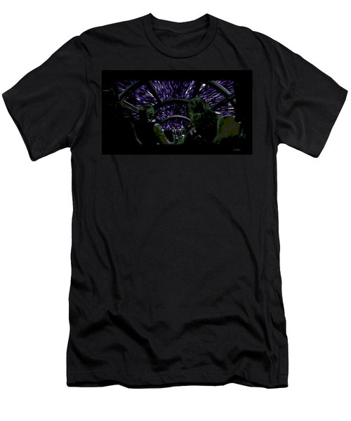 Hyper Space Men's T-Shirt (Athletic Fit)