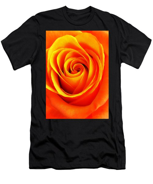 Hypnotic Orange Men's T-Shirt (Athletic Fit)